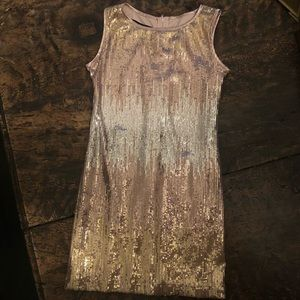 Girls Sequined Dress by Biscotti Collection